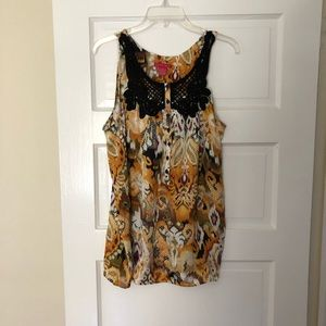 Sunny Leigh tank top. Women's size M